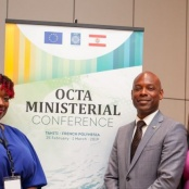 Sint Maarten participates at the OCTA Ministerial Conference