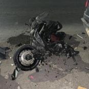 Hit and run. Drivers of Scooter & Hyundai Creta leave the scene