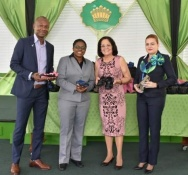 CARIBBEAN AIRLINES SUPPORTS HER EXCELLENCY'S 'KIND SOLES PROJECT'