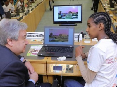 Energy of African youth 'propelling' new development era as UN ties bear fruit