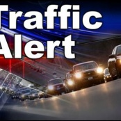 Traffic temporarily back to normal along W.G. Buncamper road