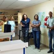 Island Gems donate projectors to University of St. Martin
