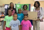 No Kidding with our Kids Foundation Receives Projector from CIBC FirstCaribbean