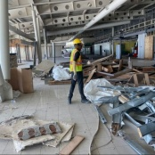Over 170 metric tons of waste removed during pre-works of Airport Terminal Reconstruction Project