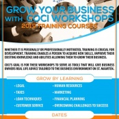 Chamber organizers Grow Your Business Workshop Series. Sign-up for August 29 Workshop