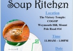 Soup Kitchen Open on Saturday