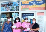 $4000 raised at 6th Annual Pink Sunset Sail in support of Breast Cancer Awareness