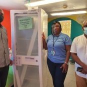 COMMUNITY AID SENTRY HILL DONATES TO THE DAYCARE CLIENTS AT MHF