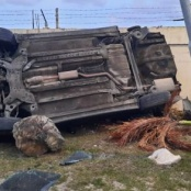 Serious accident on Airport Road Sunday afternoon