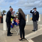 Speech of the acting Kingdom Representative Jan Helmond at the Remembrance Day Ceremony