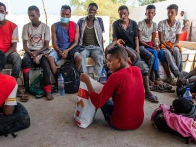 20 die after human traffickers force migrants into sea en route to Yemen