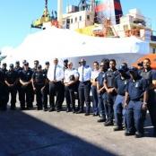 Four Metal Shark patrol boats arrive for SXM Coast Guard