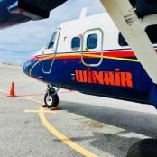 Winair Public Travel Advisory: Flight Cancellations due to Jerry