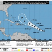 Be vigilant and prepared for extremely active Hurricane Season. Monitor the progress of TD#11