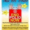 Rotary Sunset Joins the Fight to End Polio