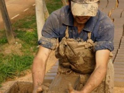 Building a green economy, brick by brick