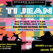 PROMOTION of THEATRICAL PERFORMANCE - Ti Jean & his Brothers in St. Maarten by YOUTHS of STAGES ANGUILLA