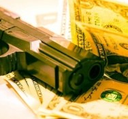 Two Armed Robbers targets Supermarket on the A.J.C Brouwers road