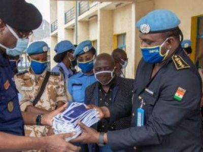 Policing the pandemic: how UN Police are maintaining law, order, and public health