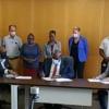 Minister Samuel signs School Repair Program Agreement