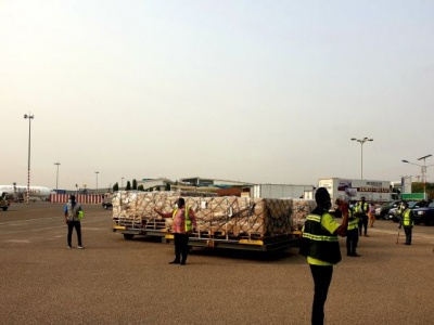 Ghana receives first historic shipment of COVID-19 vaccinations from international COVAX facility