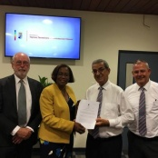 Jetair Caribbean received its Air Operating Certificate today