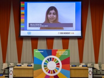 Sustainable Development goals are 'the future' Malala tells major UN event, urging countries to get on track