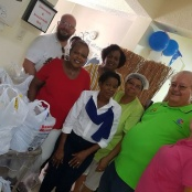 The Rotary Club of St. Maarten-Mid Isle Aid the Community Outreach Mentorship Empowerment Center