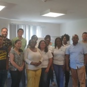 Healthcare workers participate in intervention strategies workshop