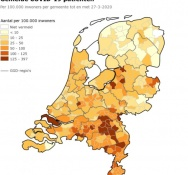 Dutch coronavirus death toll rises by 112, IC patients reach 761