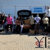 Yogesh Commercial Complex donates food boxes to those in need