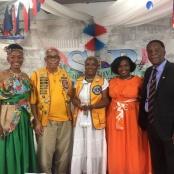 """Sint Maarten Lions Club received """"UNSUNG HEROES"""" Award"""