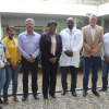 Act. Minister of Public Health Romeo Marlin visits dialysis department at SMMC