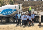 MPC students receive tour of St. Maarten Concrete. Informed about career opportunities and role in rebuilding the country